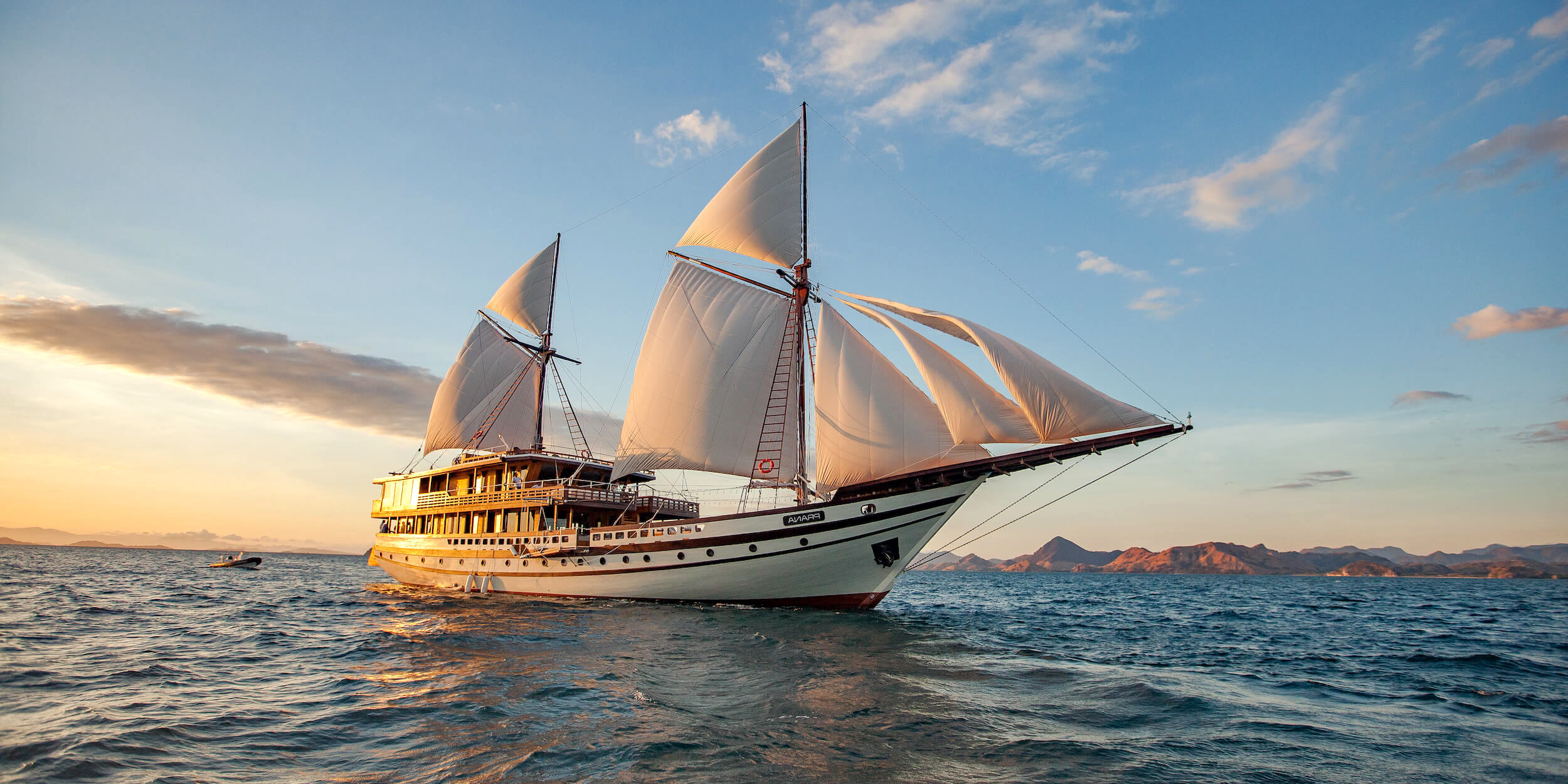 Yacht charter Bali to Kei islands