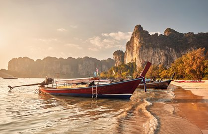 Private boat Koh Yao to Railay beach