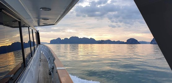Private boat Phuket to Koh Yao